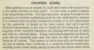 Coloured Slides the Art of Projection p. 145