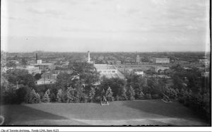 View from Casa Loma tower