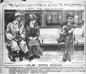 8. The Adventures of Kitty Cobb VIII, Star Weekly April 13, 1912 p7