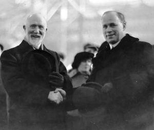 Joseph Flavelle and John Eaton ca. 1910-1914
